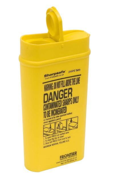 Naaldencontainer 0,3 Liter-0