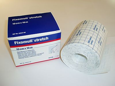 Fixomull Stretch 10mtrx10cm-0