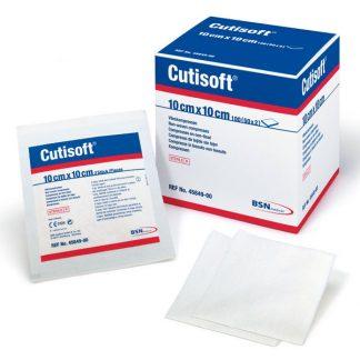 Cutisoft St. 10x10cm, 75 stuks-0