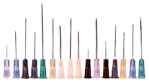 Injectienaalden 1,2x50mm, 100 stuks-0