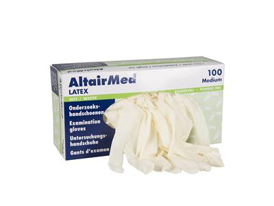 Latex Handschoenen Altairmed Ongep, 100 stuks-0