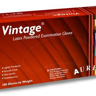 Latex Handsch Vintage gep, 100 stuks-0