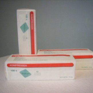 Gaascompressen 5x5cm NS-0
