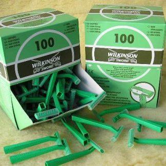 Chir.Scheermesjes Wilkinson100 stuks-0