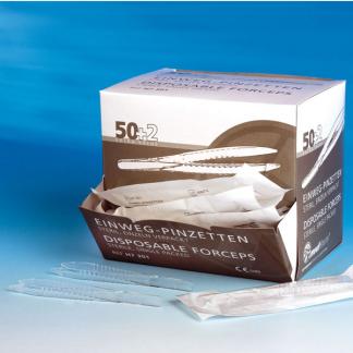 Pincetten Disposable p/s Steriel, 50 stuks-0