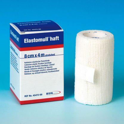 Elastomull Haft 4mtr x4cm 10 rollen-0