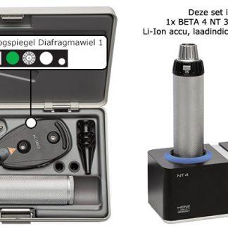 Complete K180 Otoscoop/Oogspiegel set met oplaadstation-0