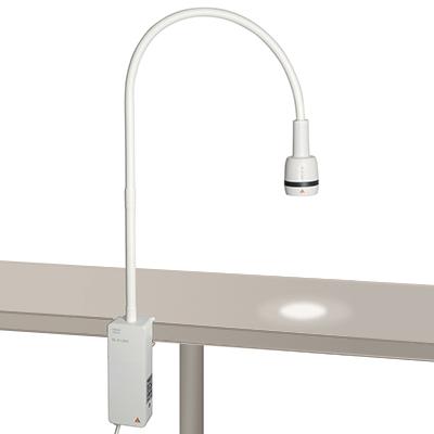 Onderzoekslamp Heine EL3 LED, rail/tafelmodel-0