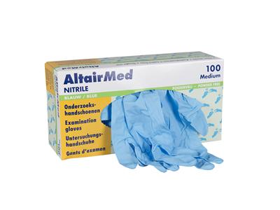 AltairMed Nitrile Ongepoederd 10x100 stuks-0